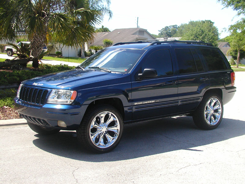 jeep grand cherokee 2000 jeep grand cherokee limited with 20 s car. Black Bedroom Furniture Sets. Home Design Ideas